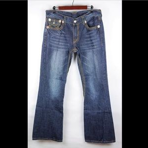 TRUE RELIGION Medium Wash Jeans Boot Cut Denim